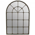 Iron Arch Panel Mirror