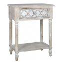 Hilton Beach 1 Drawer Bedside / Lamp End Table
