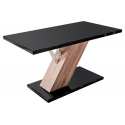Drifter Black Gloss Dining Table