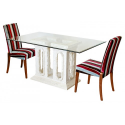 Mactan Stone Tower Dining Table