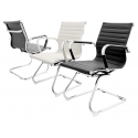 Eames Style Chrome Dining Chair