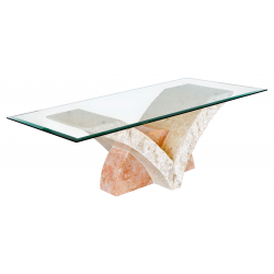 Mactan Stone Uranie Coffee Table