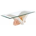 Mactan Stone Uranie Coffee Table
