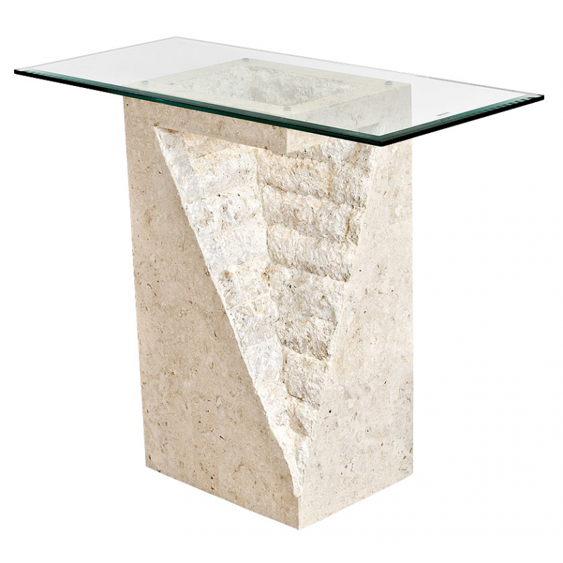 Glass Coffee Table Philippines: Mactan-stone-and-glass-athens-pedestal-table