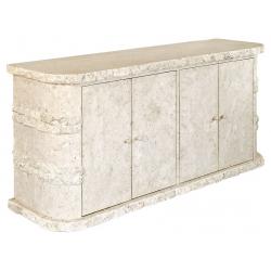Mactan Stone Rockedge Sideboard Cabinet