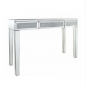 Millanno Crushed Glass And Mirror Console Table