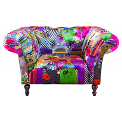 Alhambra Luxury Pattern Patchwork Armchair