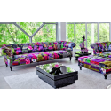 Alhambra Patchwork Four Seater Sofa