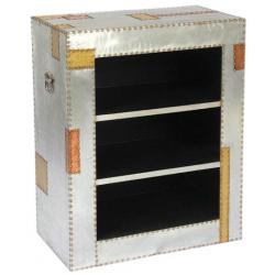 Aluminium and Copper Book Shelf