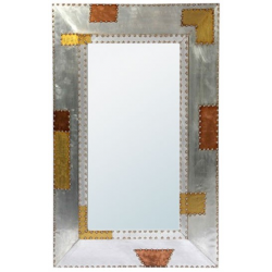 Aluminium and Copper Large Industrial Mirror