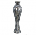 Copper Tile Mosaic Tall Vase