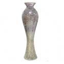 Lavender Sparkle Mosaic Tall Vase