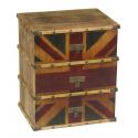 Vintage Union Jack Bedside Cabinet