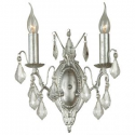 Silver French Sconce