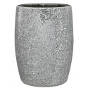 Silver Mosaic Sparkle Waste Bin
