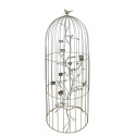 Gold Extra Large Birdcage Tealight Holder