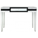 Black Mirror Manhat Console /Dressing Table