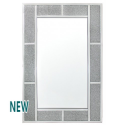 Millanno Crystal Brick Effect Wall Mirror