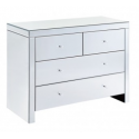 Modern Mirror 4 drawer chest of Drawers
