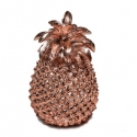 Large Copper Pineapple Table Decor