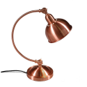 Vintage Copper Arched Traditional Desk Lamp
