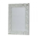 Large Clear Square Detail Venetian Mirror