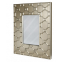 Gold Geo Wall Mirror