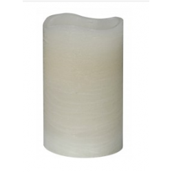 LED Slim Cream Church Style Candle