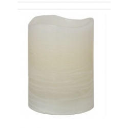 Ivory Small Church LED Candle