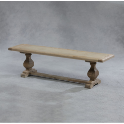 Large Reclaimed Elm Bench Seat