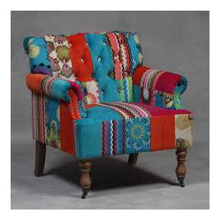 Large Patchwork Armchair