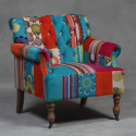 Large Patchwork Armchair