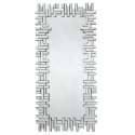 Clear Venetian Jigsaw Tall Mirror