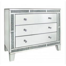 Milano Mirror Chest Of Drawers