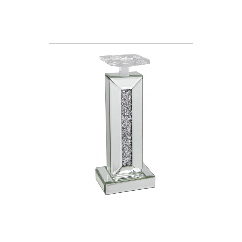 Milano mirror small candle holder for Mirror holders