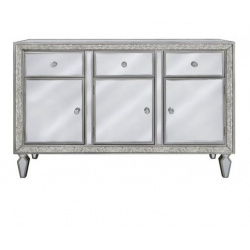 Maddy Antique And Clear Mirror Cabinet