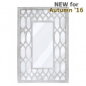 Verona Washed Ash Wall Mirror