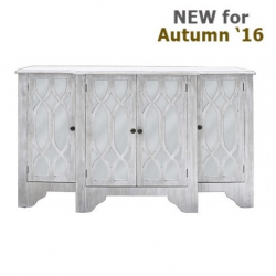Verona Washed Ash 4 Door Sideboard
