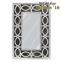 Anton 120cm Wall Mirror Washed Ash And Smoked Mirror