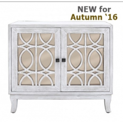 Anton Washed Ash And Champagne 2 Door Sideboard