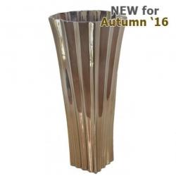 Large Shiny Gold Kimona Vase (60cm)