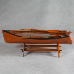 "Antiqued ""Marine"" Wooden Rowing Boat Coffee Table"