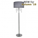 "Grey Floor Lamp ""Versailles"""