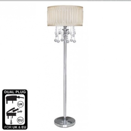 Cream Floor Lamp Versailles