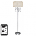 "Cream Floor Lamp ""Versailles"""
