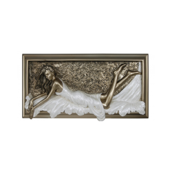 """Bronze and Pearl Passion Plaque """"Beauty"""""""