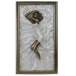 """Bronze and Pearl Passion Plaque """"Marilyn"""""""