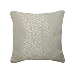 Soft Grey Animal Print Cushion