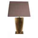 Gold Bahama Large Table Lamp with 20 inch Chocolate Shade