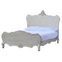 Boudoir Provence Antique Silver Bed